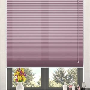honeycomb blinds purple