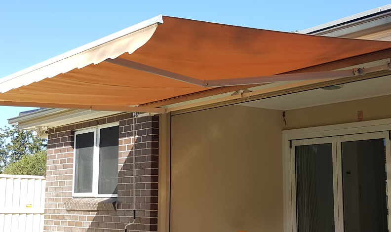 Diy Folding Arm Awning 4m Wide X 2 5m Projection Beige