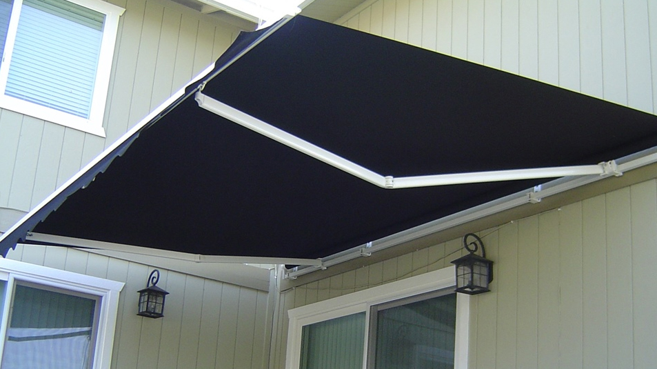 Diy Folding Arm Awning 3m Wide X 2 5m Projection Black