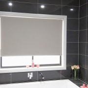 Blockout Roller blind in Bathroom